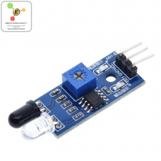 IR Infrared Obstacle Avoidance Sensor Module for Car Robot 3-wire Reflective Photoelectric