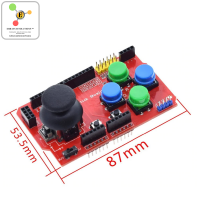 Joystick Shield for Arduino