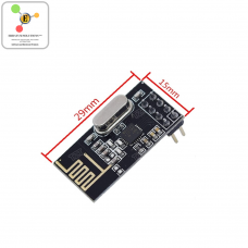 NRF24L01 Wireless Transceiver + 2.4GHz Antenna Module