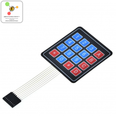 4x4 Membrane Switch Keypad