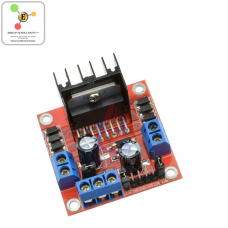 L298N Dual Channel H Bridge DC Stepper Motor Driver
