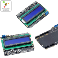16x2 LCD + Keypad display shield for Arduino
