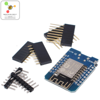 WeMos D1 mini - Mini NodeMcu 4M bytes Wi-Fi Internet of Things development board based ESP8266 WiFi Modal Board for Arduino